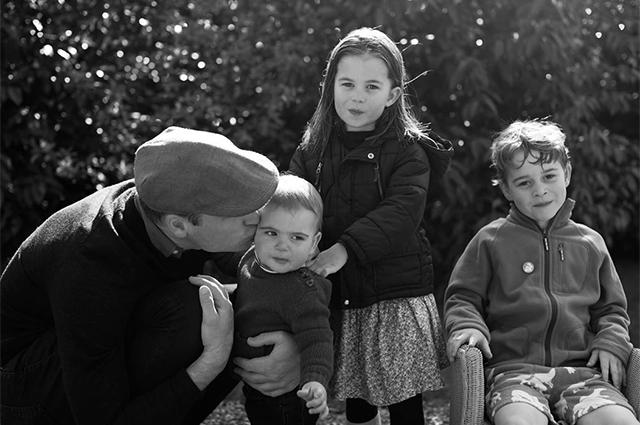 Уилям с децата
