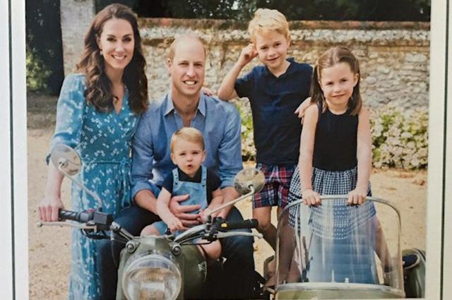 Принц Уилям, Кейт и децата