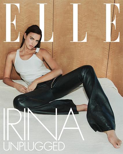 Ирина Шейк на корицата на Elle