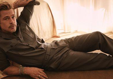 Брад Пит и неговата нова модна колекция (видео)